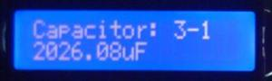 Condensator marcat 2200µF - masurat 2026µF