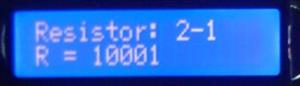Rezistor marcat 10KΩ - masurat 10.001KΩ
