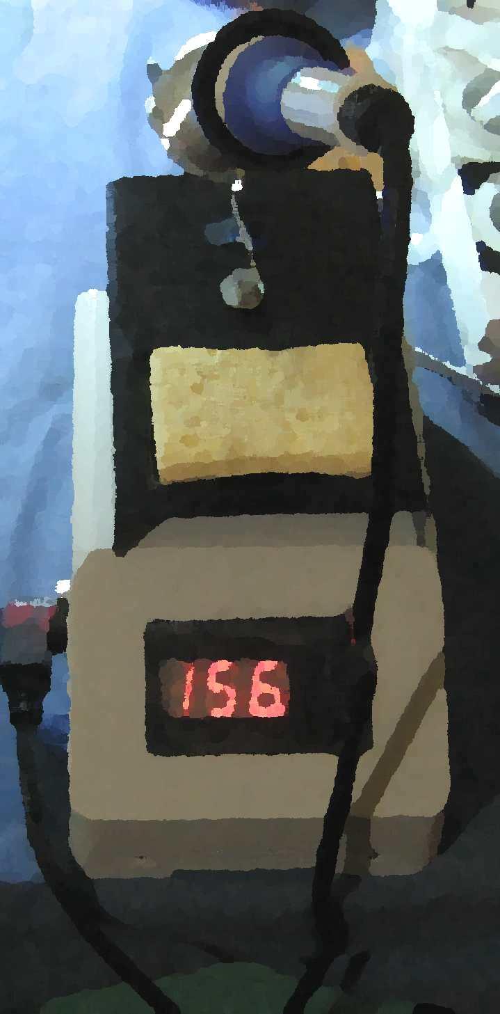 Statie de lipit termocompensata ATMEGA8 STL008